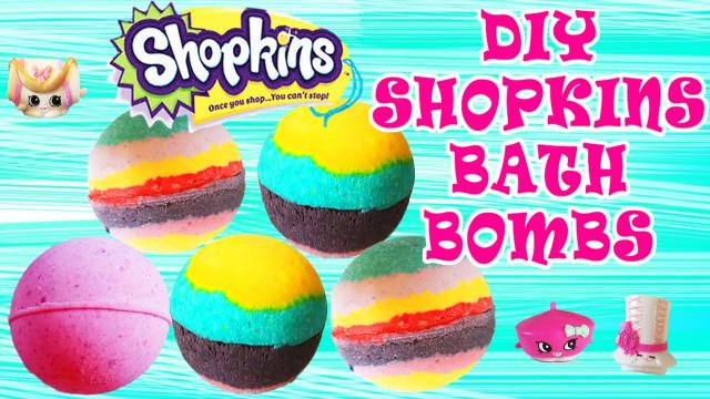 DIY Bath Bombs For Kids  DIY Shopkins Bath Bombs How To Make Bath Bombs Easy