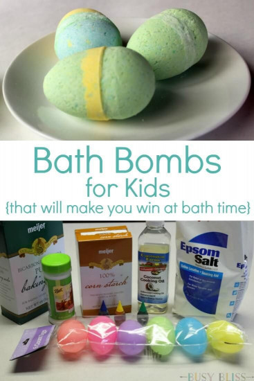DIY Bath Bombs For Kids  Bath Bombs for Kids That Will Make You Win at Bath Time