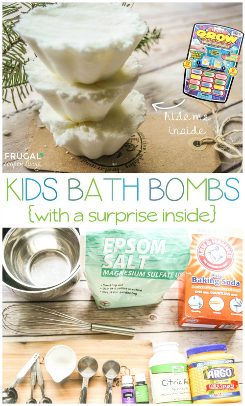 DIY Bath Bombs For Kids  Homemade Kids Bath Bombs You Choose the Scent