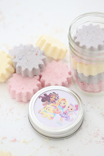 DIY Bath Bombs For Kids  DIY Sunny Day Bath Bombs Recipe for Kids