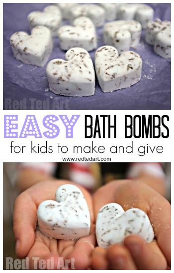 DIY Bath Bombs For Kids  Handmade Beaded Christmas Ornaments