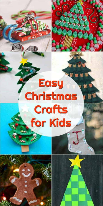 DIY Christmas Crafts For Kids  Kids Christmas Crafts to DIY decorate your holiday home