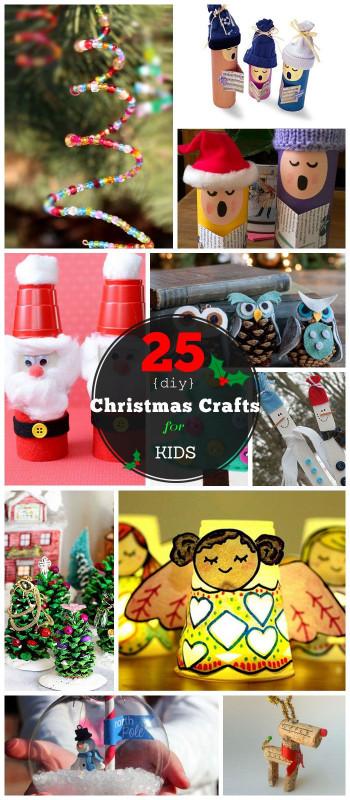 DIY Christmas Crafts For Kids  30 Christmas Crafts For Kids to Make DIY