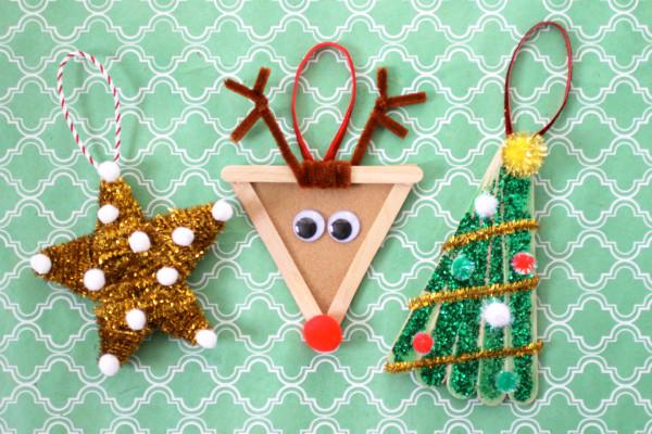 DIY Christmas Crafts For Kids  Christmas DIY Kids Ornaments Evite