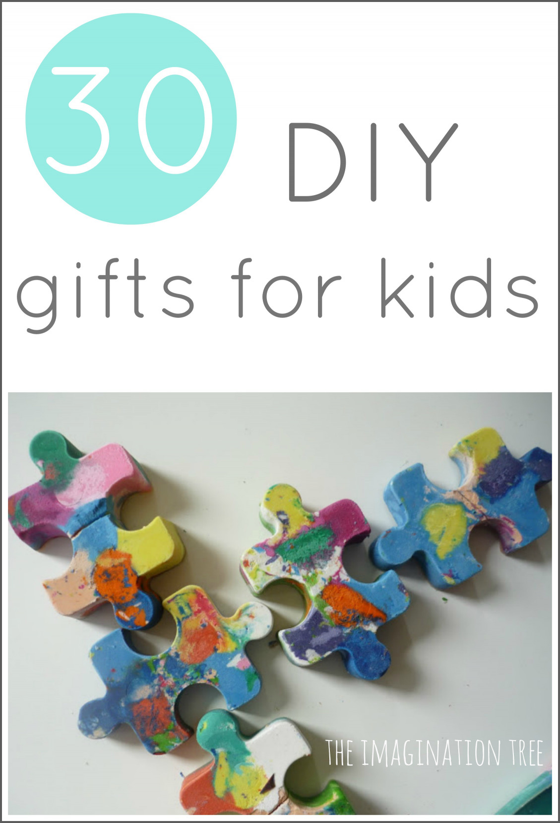 DIY Christmas Gift For Kids  30 DIY Gifts to Make for Kids The Imagination Tree