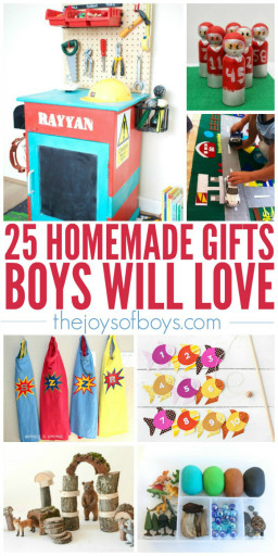DIY Christmas Gift For Kids  25 Homemade Gifts Boys Will Love