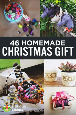 DIY Christmas Gift For Kids  46 Joyful DIY Homemade Christmas Gift Ideas for Kids & Adults