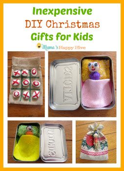 DIY Christmas Gift For Kids  Inexpensive DIY Christmas Gifts for Kids Mama s Happy Hive