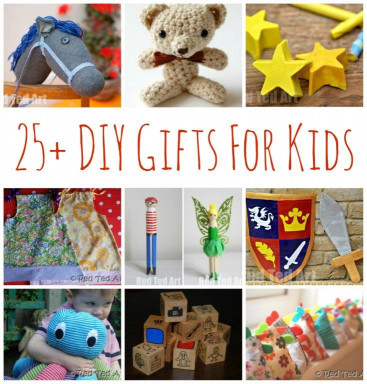 DIY Christmas Gift For Kids  25 DIY Gifts for Kids Make Your Gifts Special Red