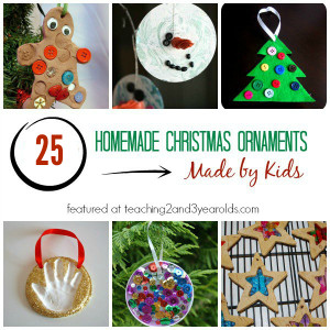 DIY Christmas Ornaments For Kids  25 Homemade Christmas Ornaments for Kids
