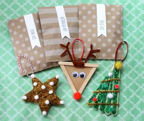DIY Christmas Ornaments For Kids  Christmas DIY Kids Ornaments Evite