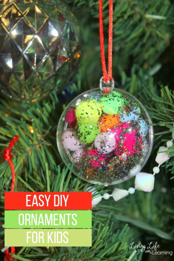 DIY Christmas Ornaments For Kids  Easy DIY Ornaments for Kids