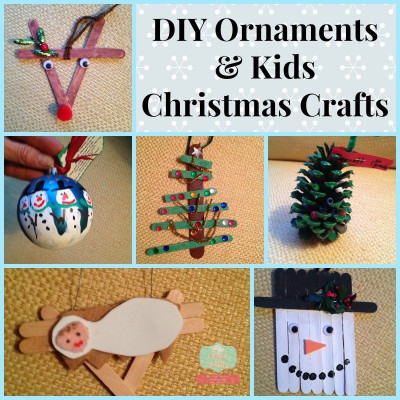 DIY Christmas Ornaments For Kids  DIY Ornaments and Kids Christmas Crafts Close To Home
