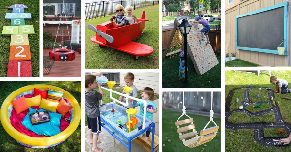 DIY Ideas For Kids  34 Best DIY Backyard Ideas and Designs for Kids in 2019