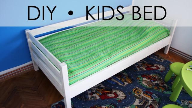 DIY Kids Bed  DIY kids bed EASY & SIMPLE