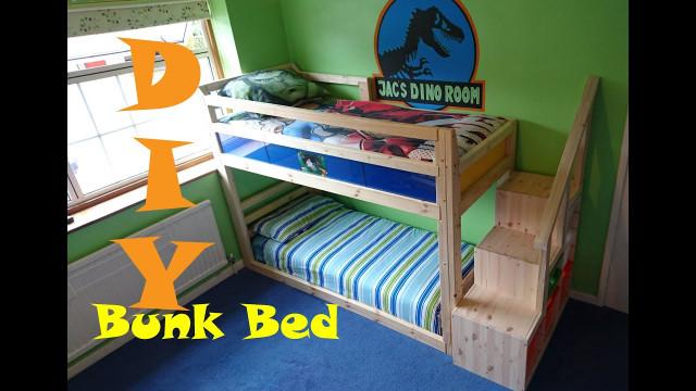 DIY Kids Bed  Chatters DIY Bunk Bed under £80