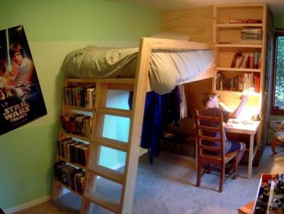 DIY Kids Bed  DIY Loft Bed