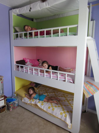 DIY Kids Bed  31 DIY Bunk Bed Plans & Ideas that Will Save a Lot of