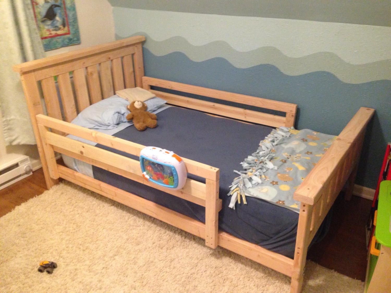 DIY Kids Bed  DIY 2x4 bed bebos shared room Pinterest