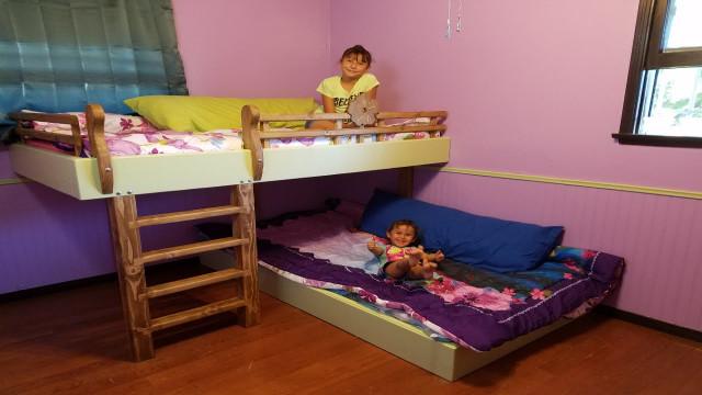 DIY Kids Bed  DIY Bunk Beds