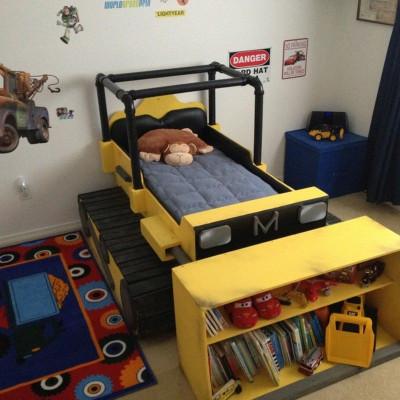 DIY Kids Bed  DIY Dump Truck Bed