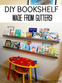 DIY Kids Book Shelf  37 DIY Bookshelf Ideas Unique and Creative Ideas