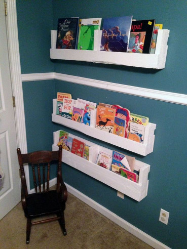 DIY Kids Bookshelf  DIY Pallet Bookshelves