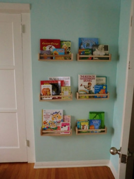 DIY Kids Bookshelf  50 Creative DIY Bookshelf Ideas