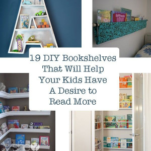 DIY Kids Bookshelf  Best 25 Kid Bookshelves ideas on Pinterest