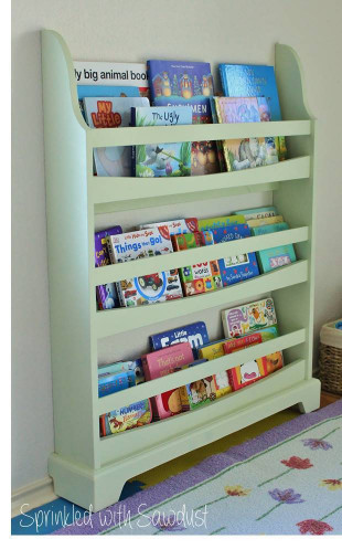 DIY Kids Bookshelf  15 DIY Bookshelves To Organize & Display Your Fav Stories