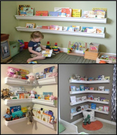 DIY Kids Bookshelf  37 DIY Bookshelf Ideas Unique and Creative Ideas