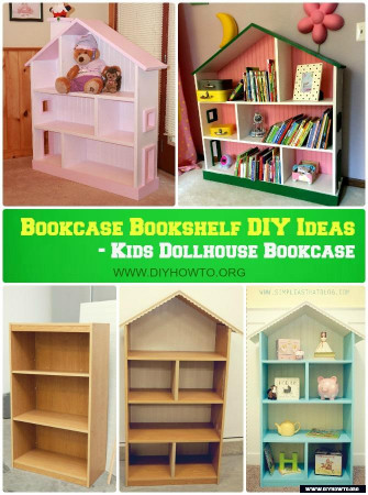 DIY Kids Bookshelf  Bookcase Bookshelf DIY Ideas Free Plan