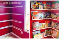 Diy Kids Bookshelves Awesome Diy Kids Bookcase