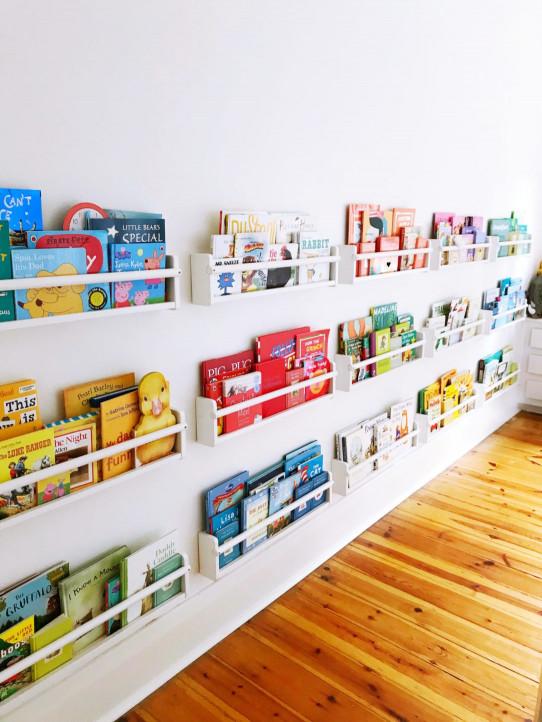 DIY Kids Bookshelves  Kids bookshelf DIY