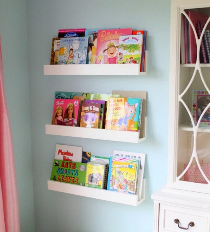 DIY Kids Bookshelves  Winks & Daisies DIY Wall Shelves