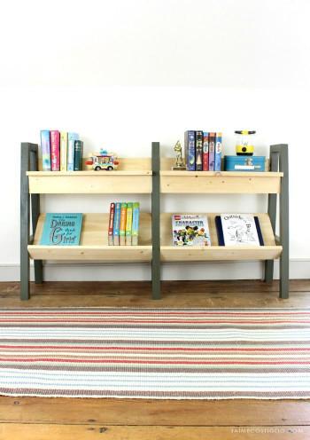 DIY Kids Bookshelves  DIY Midcentury Modern Bookshelf Jaime Costiglio