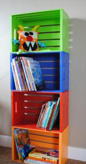 DIY Kids Bookshelves  40 Easy DIY Bookshelf Plans