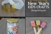 Diy Kids Crafts Unique Make Glittery New Year's Kid's Crafts – the News