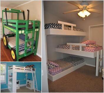 DIY Kids Loft Bed  10 Cool DIY Bunk Bed Designs for Kids