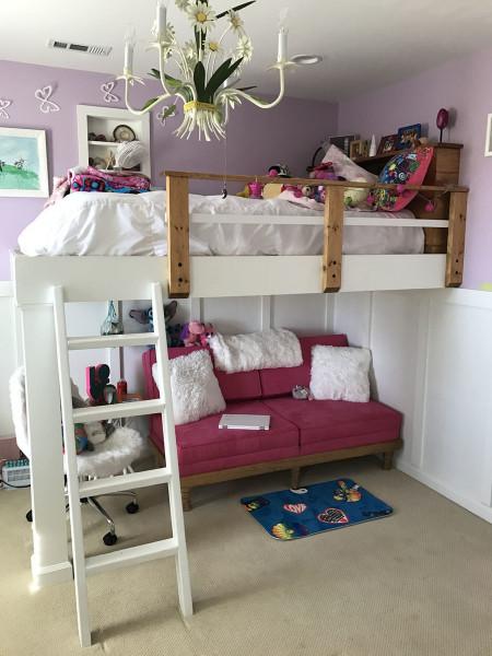 DIY Kids Loft Bed  Ana White