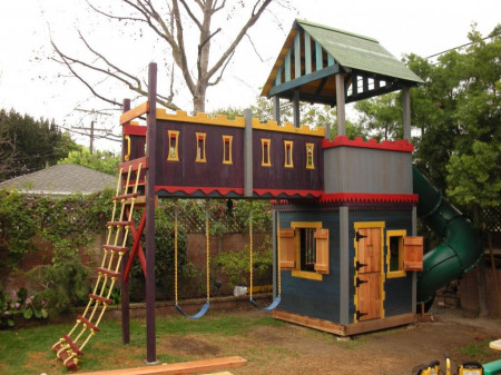 DIY Kids Playhouse  16 DIY Playhouses Your Kids Will Love to Play In – The