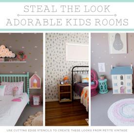 DIY Kids Room  Steal The Look Adorable Kids Rooms