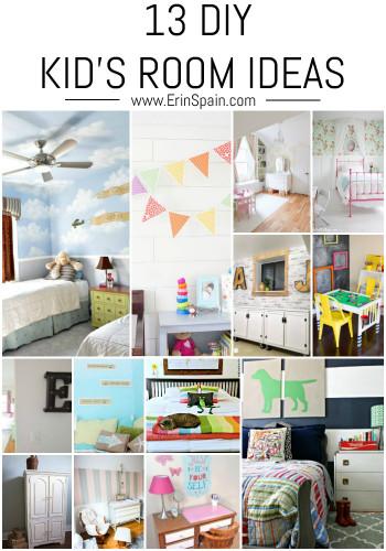 DIY Kids Room  13 DIY Kid s Room Ideas Erin Spain