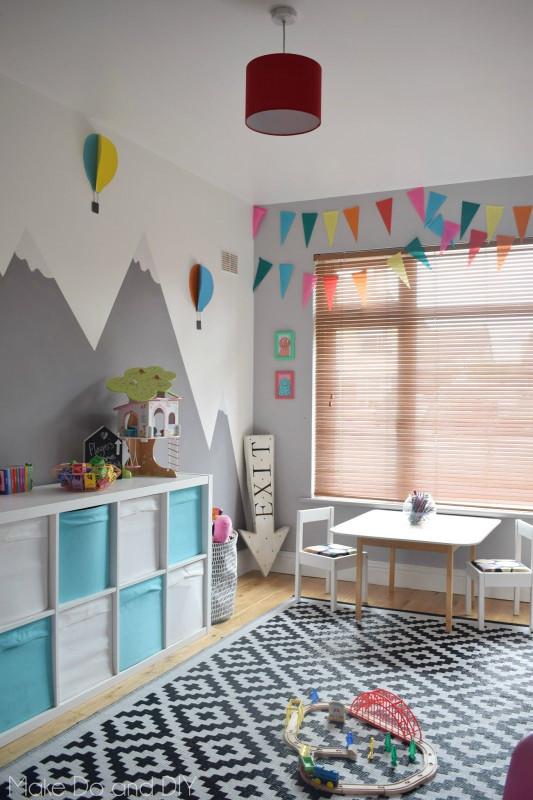 DIY Kids Room  adventure playroom makeover diy