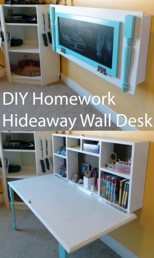 DIY Kids Room  30 DIY Organizing Ideas for Kids Rooms