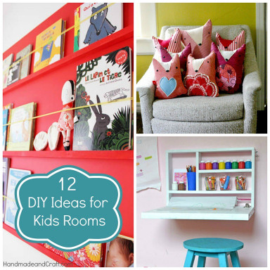 DIY Kids Room  12 DIY Ideas for Kids Rooms DIY Home Decor