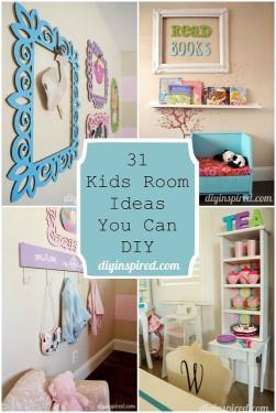 DIY Kids Room  31 Kids Room Ideas You Can DIY DIY Inspired
