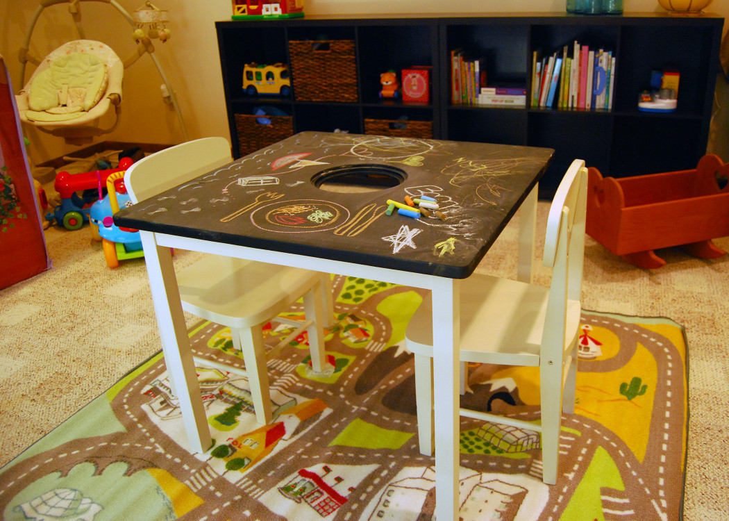 DIY Kids Table  20 Cool DIY Play Tables For A Kids Room