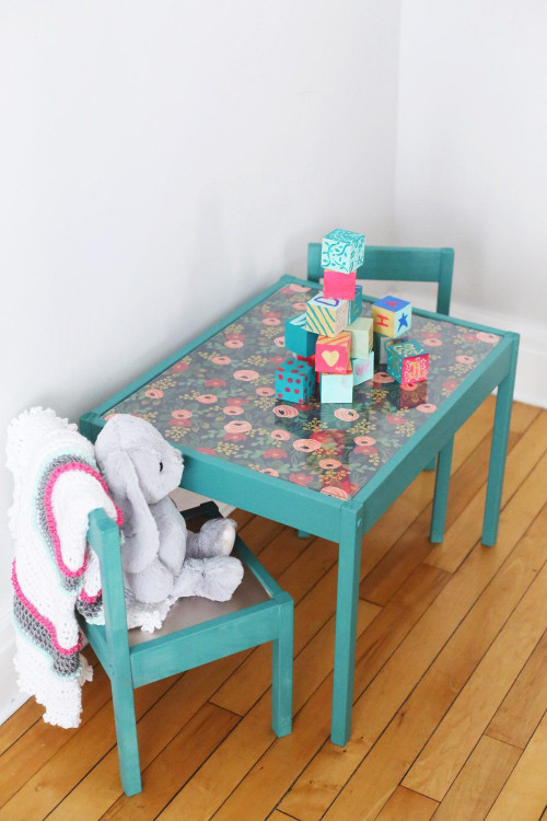 DIY Kids Table  DIY Kids Table Makeover The Sweetest Occasion