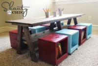 Diy Kids Table Luxury Playroom Kids Table Diy Shanty 2 Chic